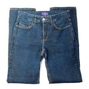 NYDJ Petite Marilyn Straight Leg Jeans Size 2P